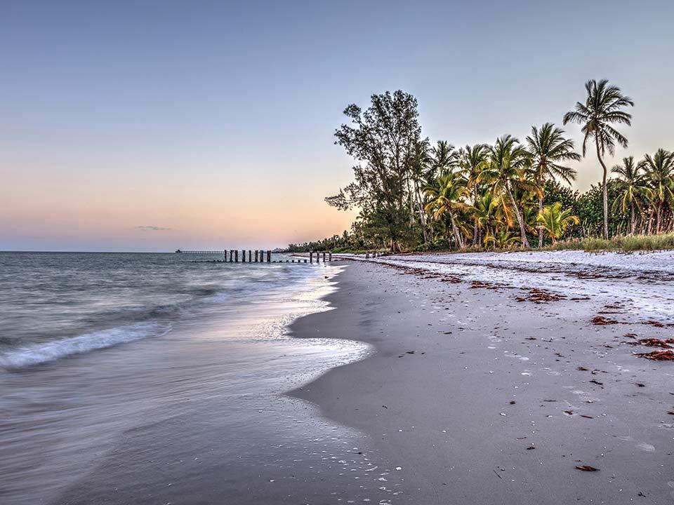 Port Royal Beach at sunset